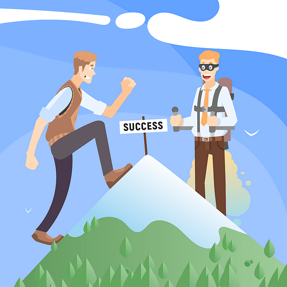 two-men-on-top-of-the-mountains-summit-for-business-success